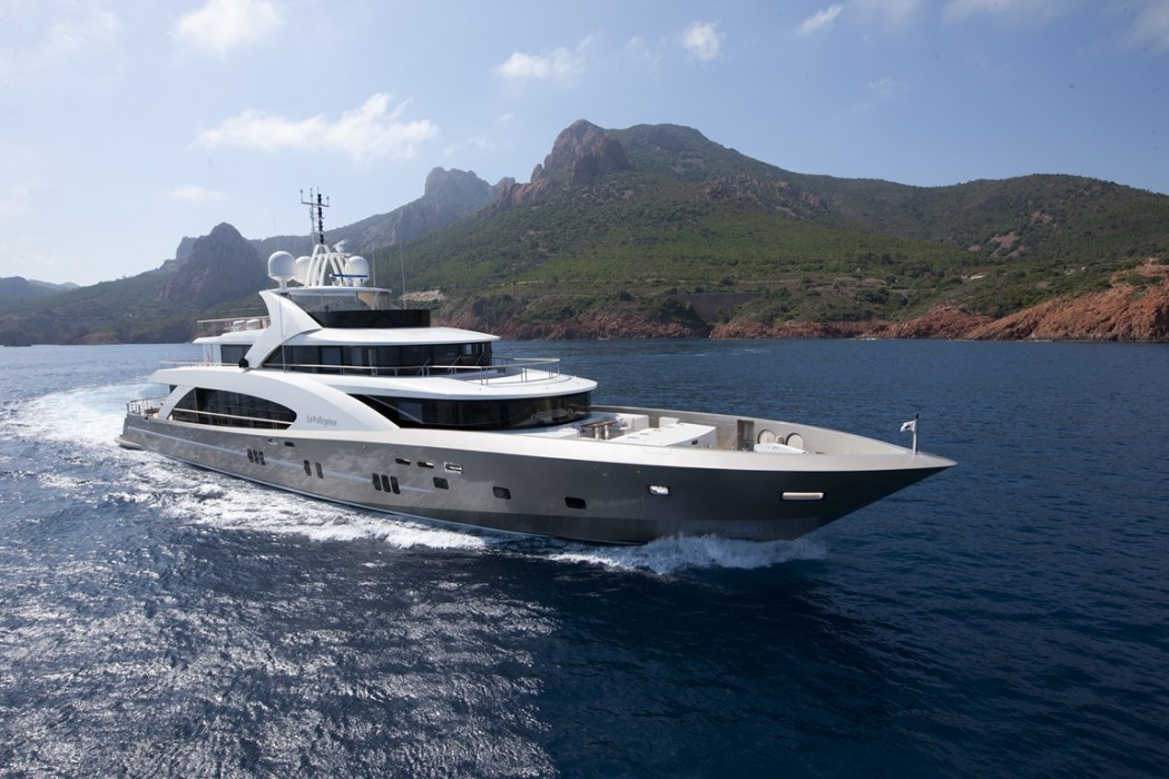 The Couach 5000 Fly Super Luxury Yacht Promises To Take
