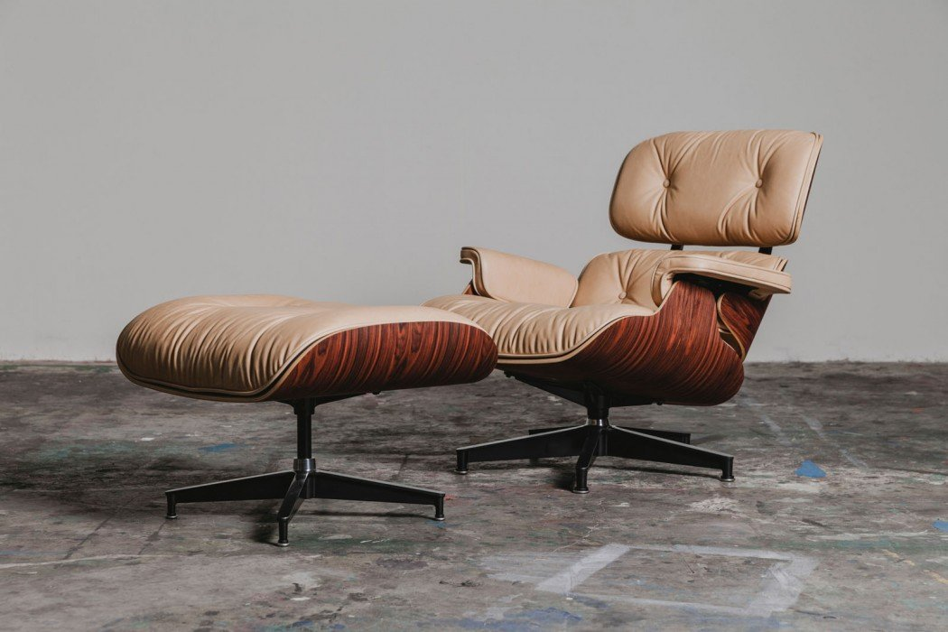 Herman Miller Recreates An Eames Inspired Lounge Chair And Ottoman For  Fashion Brand 3sixteen