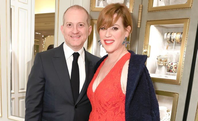 Josh Schulman and Molly Ringwald