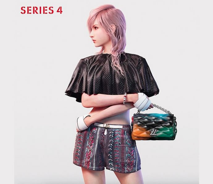 A Warrior From Final Fantasy Is Louis Vuitton S Newest Model