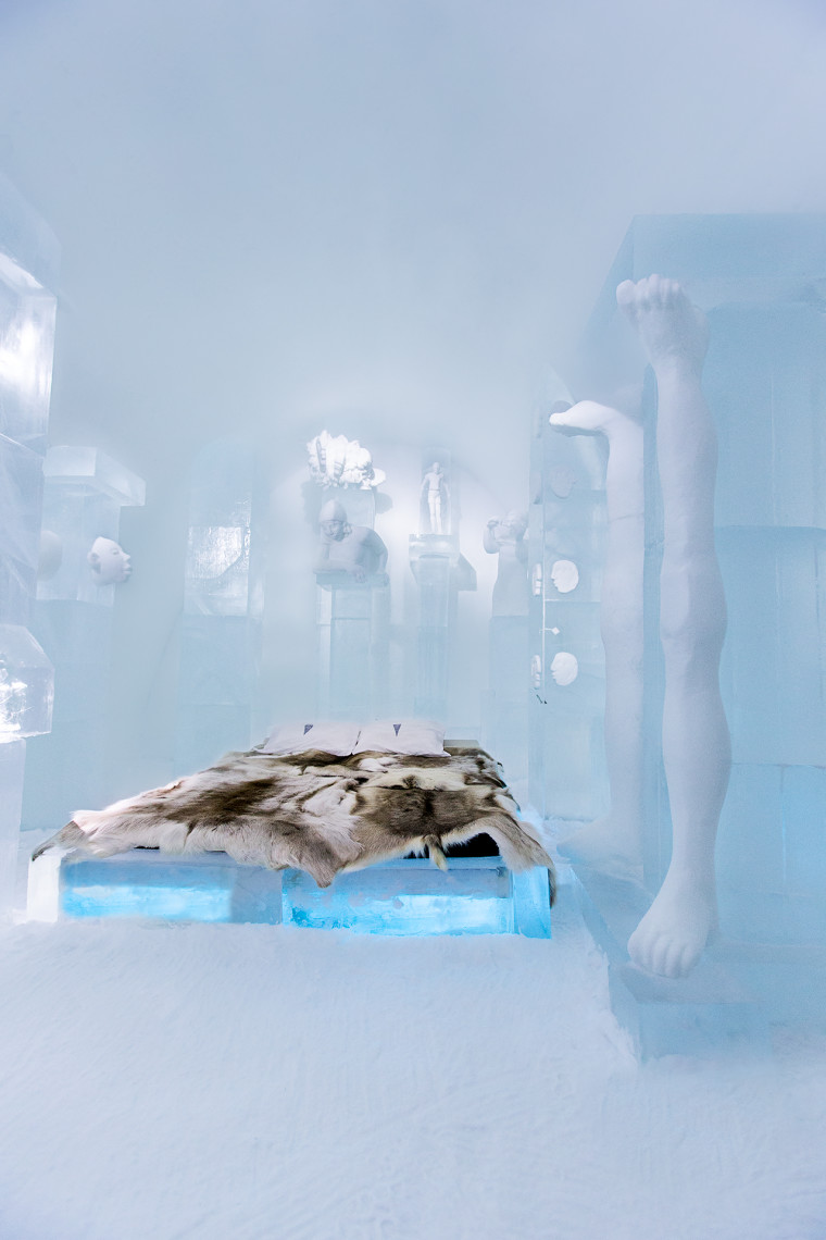 19 Breathtaking Suites Carved From Solid Ice At Sweden's