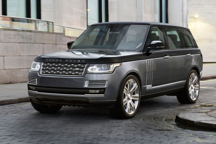 Suiting up the Range Rover SV Autobiography