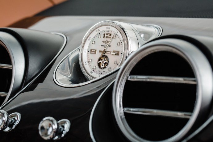 The Mulliner Tourbillon timepiece for the Bentley Bentayga