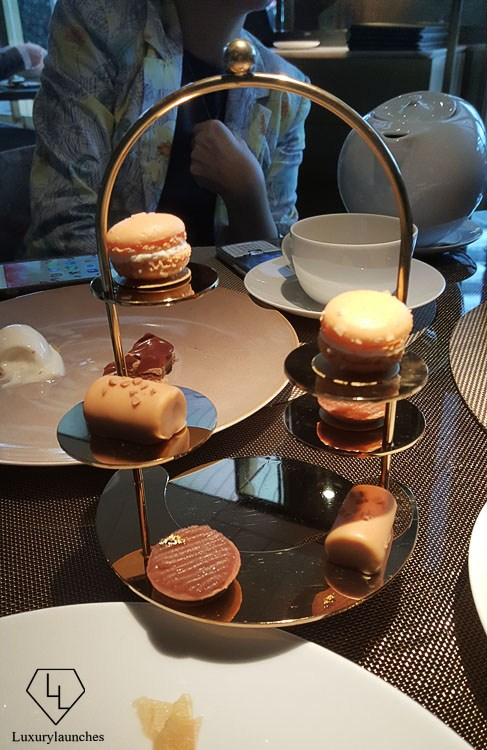 The delectable mini desserts at Epure.