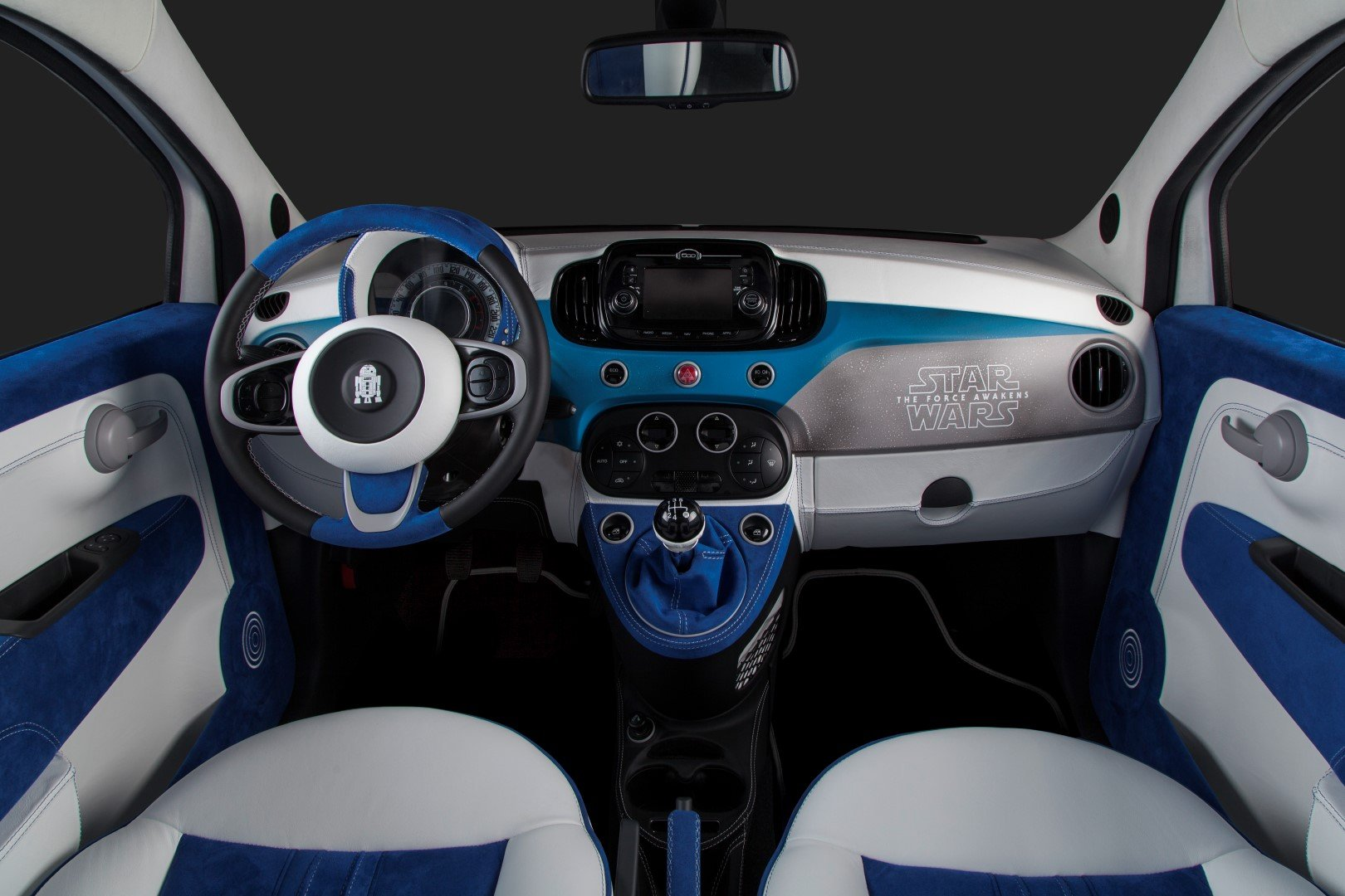 garage italia customs celebrates star wars the force awakens with custom fiat 500 wraps. Black Bedroom Furniture Sets. Home Design Ideas