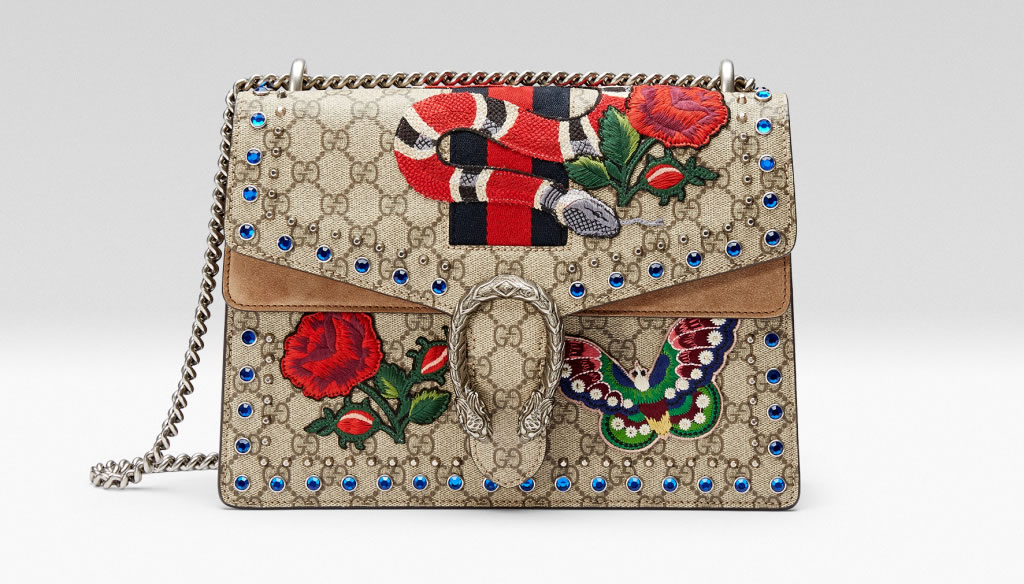 Gucci Will Launch A Collection Of Dionysus Bags Inspired