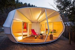 Luxurious new Korean tents set to redefine the way you go gl&ing & Luxurious wifi teepees at Yukon for all the pampering -