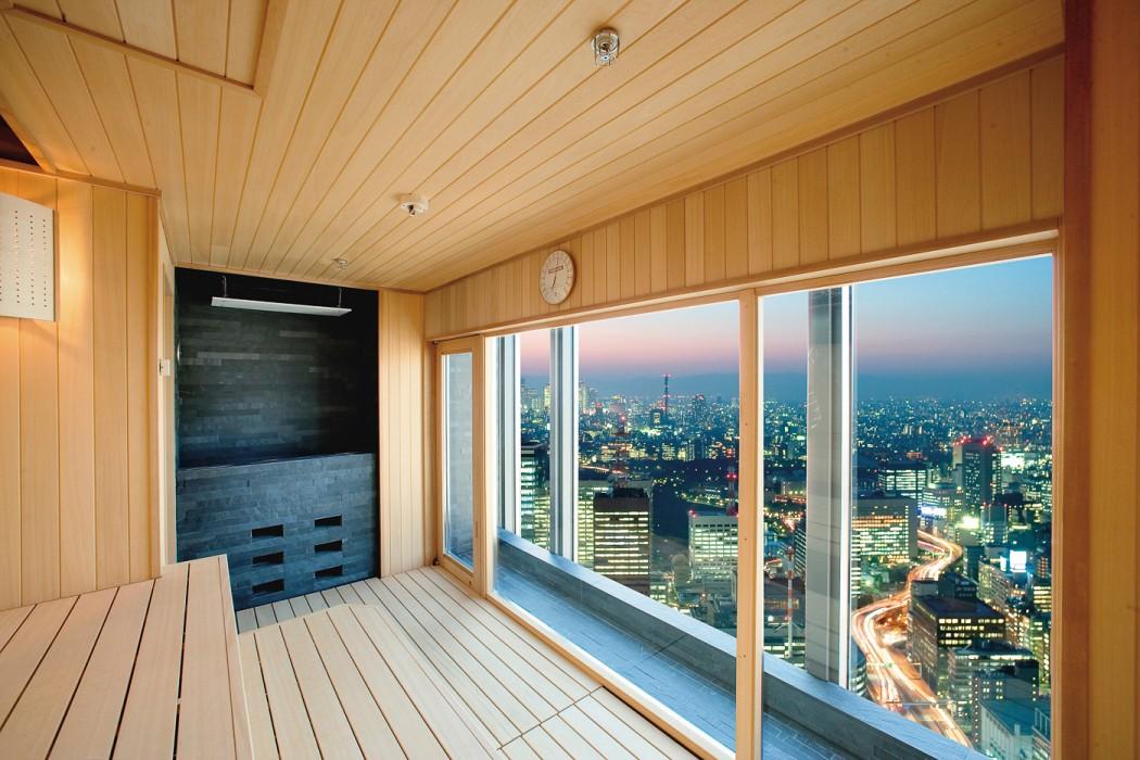 Tokyo spa dry sauna