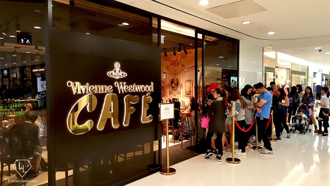 Customers wait for hours to get a seat in the cozy and trendy cafe. The queue is just warming up.