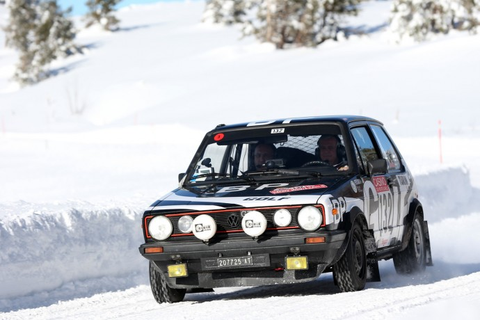 1st in 2015 P. Zanchi  and G. Agnese Golf GTI