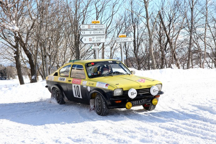 2nd in 2015 R. Durand  and S. Chol with Opel