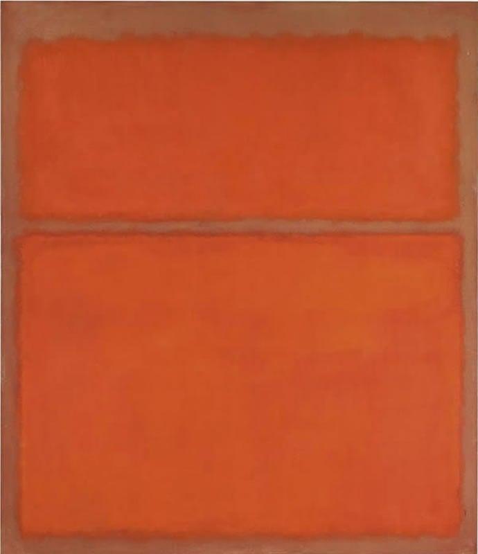 5 Untitled (1961) by Mark Rothko