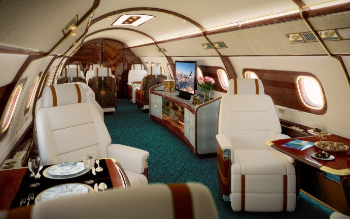 Take A Look Inside The Most Luxurious Private Jet
