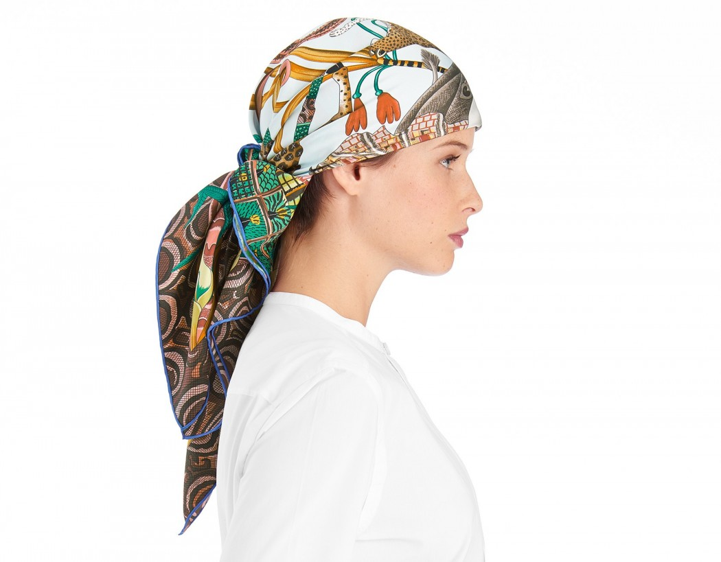 hermes croc birkin bag price - New Herm��s scarves feature beautiful African jungle inspired artwork