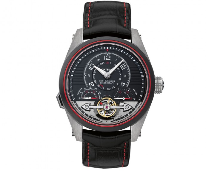 Montblanc TimeWalker ExoTourbillon Minute Chronograph 2