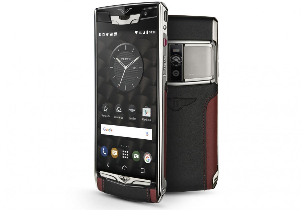 bentley teams with vertu for the 39 new signature touch for bentley 39 smartphone. Black Bedroom Furniture Sets. Home Design Ideas