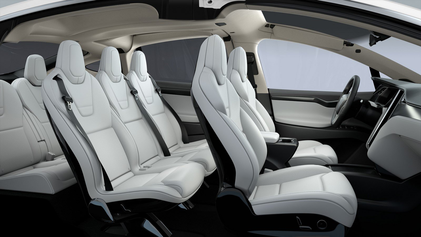 tesla now offers vegan leather interiors in the revolutionary model x. Black Bedroom Furniture Sets. Home Design Ideas
