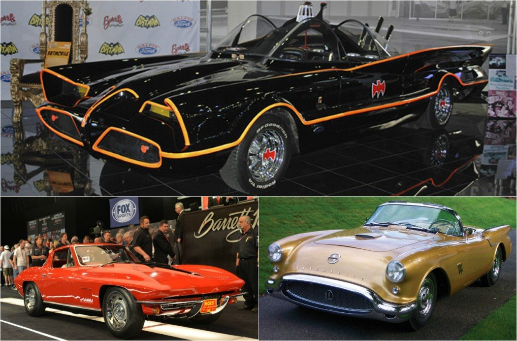 Top 5 Cars ever sold at Barrett Jackson Collector Car Auction -