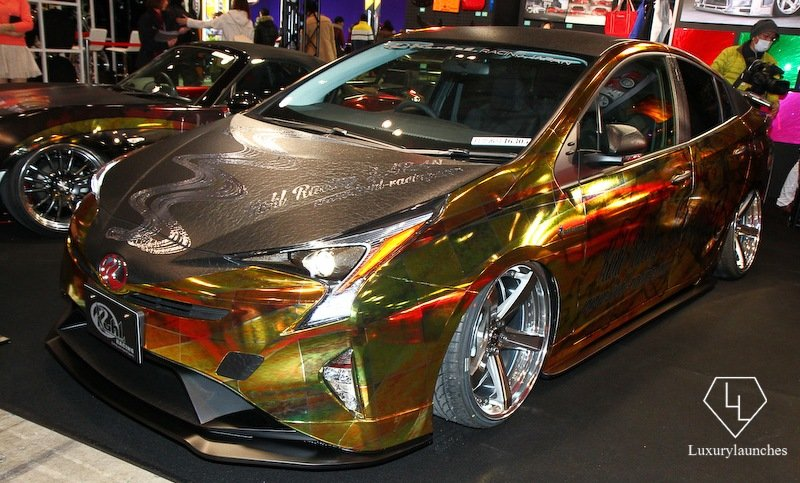 Behold The Flashiest Toyota Prius Ever