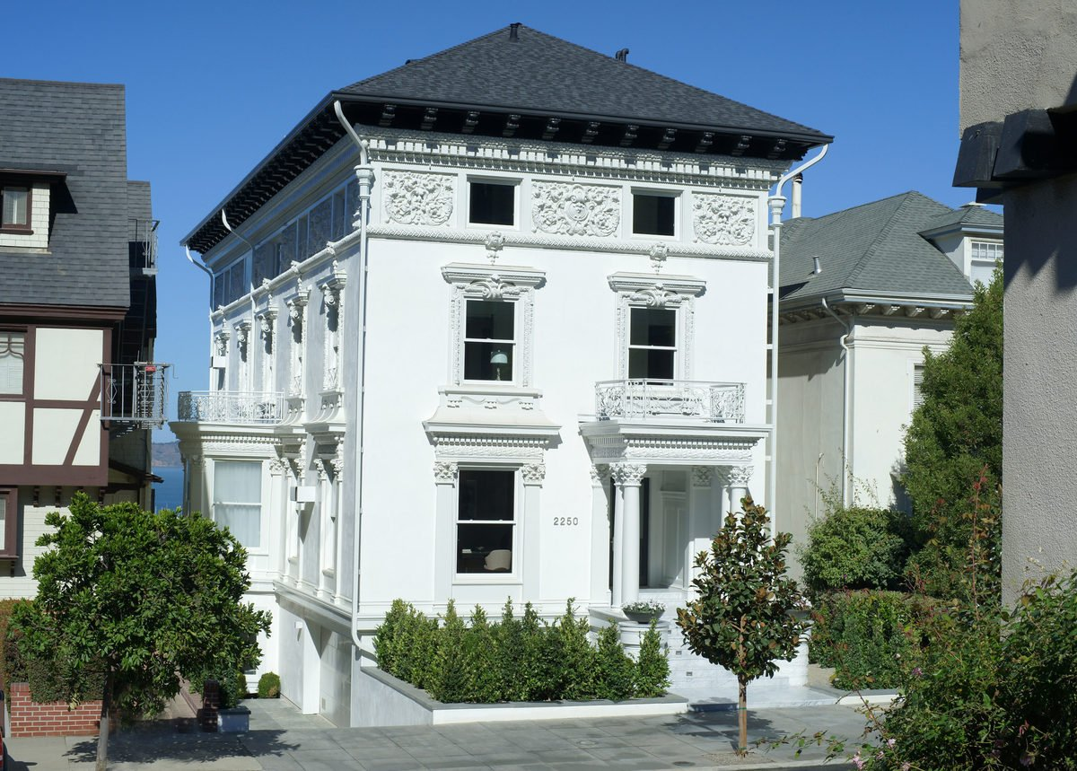 The most expensive home in san francisco is on the block for Houses in san francisco