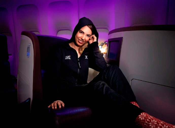 43d85bcc0dc3 ... most comfortable sleep wear airlines offers to premium passengers. by  Vivien. Virgin-Atlantic-Pyjamas-ONLINE