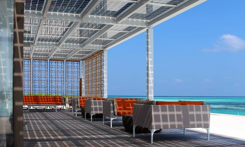 Maldives Gets The World S First Solar Powered Luxury