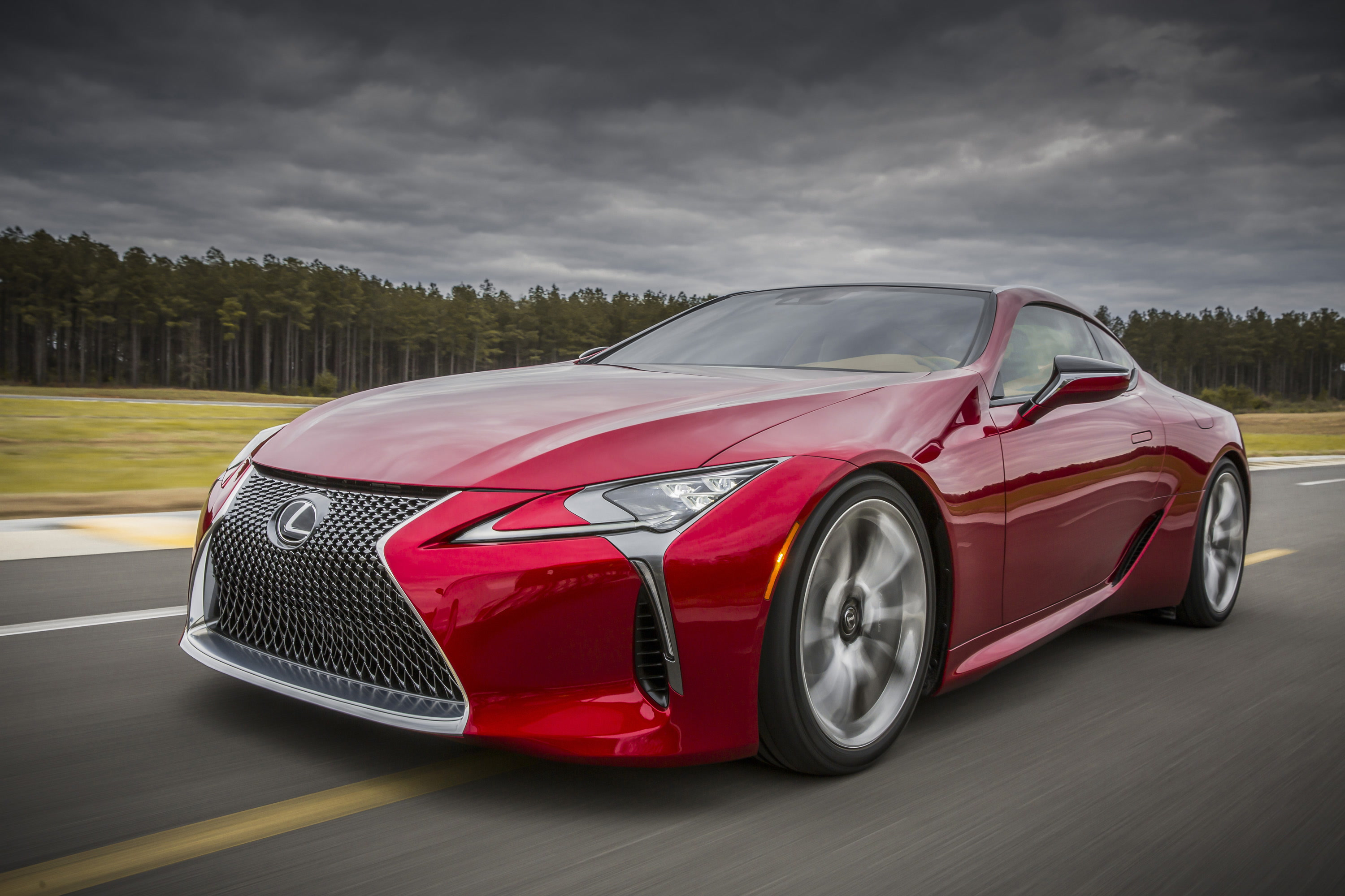 Lexus LC 500 luxury sports coupe is a sure shot head turner -