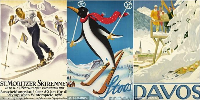 vintage ski posters (1)