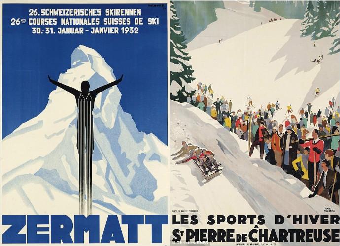 vintage ski posters (4)