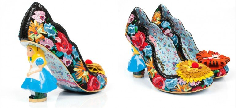 Alice in wonderland shoes (3)