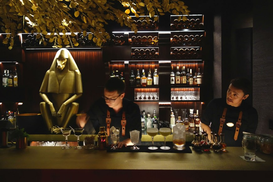 Be sure to ask about the signature cocktail at the Vagabond Bar
