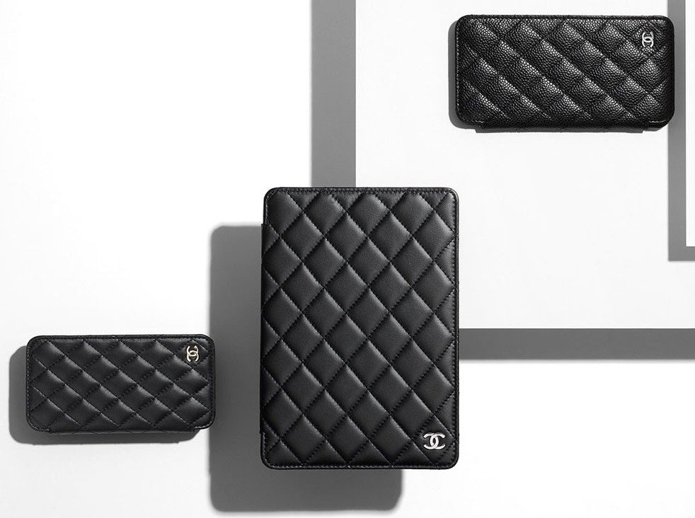 f2c3a17406a3 Chanel's quilted phone cover is the tech accessory you've always wanted -