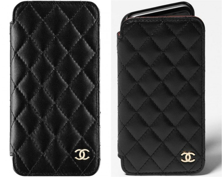 Chanel-Quilted-Phone-Holders