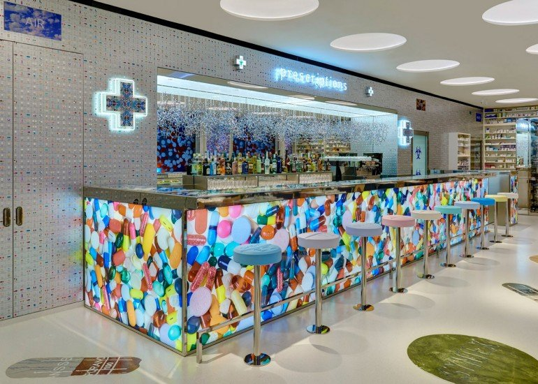 Damien Hirst's second restaurant - Pharmacy (3)