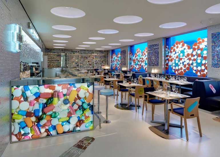 Damien Hirst's second restaurant - Pharmacy (4)