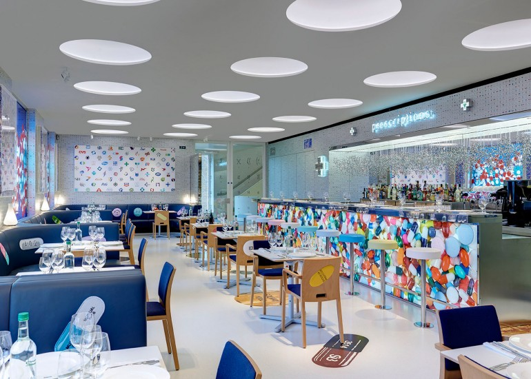 Damien Hirst's second restaurant - Pharmacy (5)