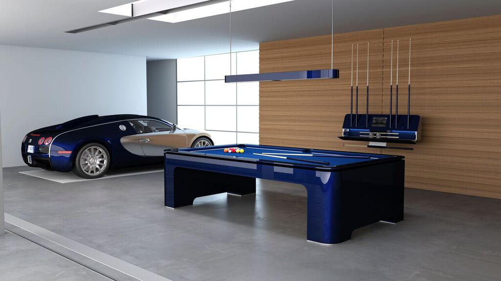 A $175k carbon fiber pool table for the Tony Starks out there : Luxurylaunches