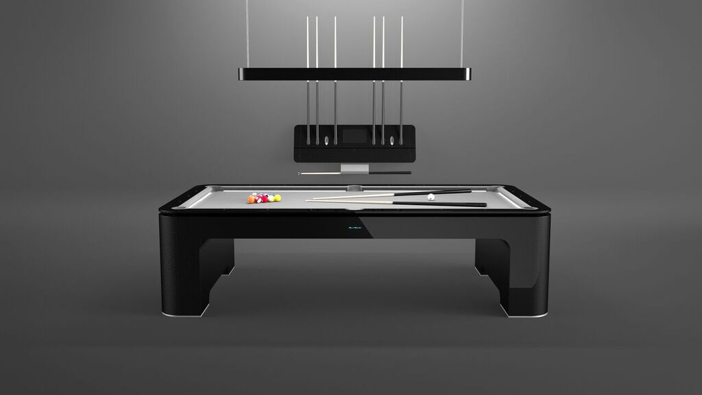 A $175k carbon fiber pool table for the Tony Starks out there -