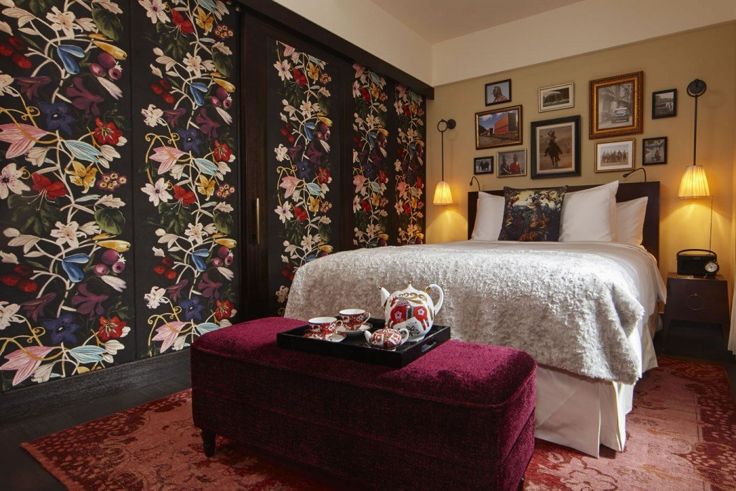 Hotel Vagabond Room Interior Jacques Garcia Design