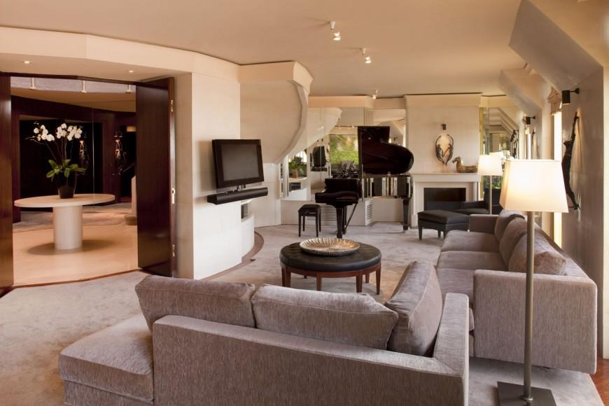 Living room Présidentielle Suite