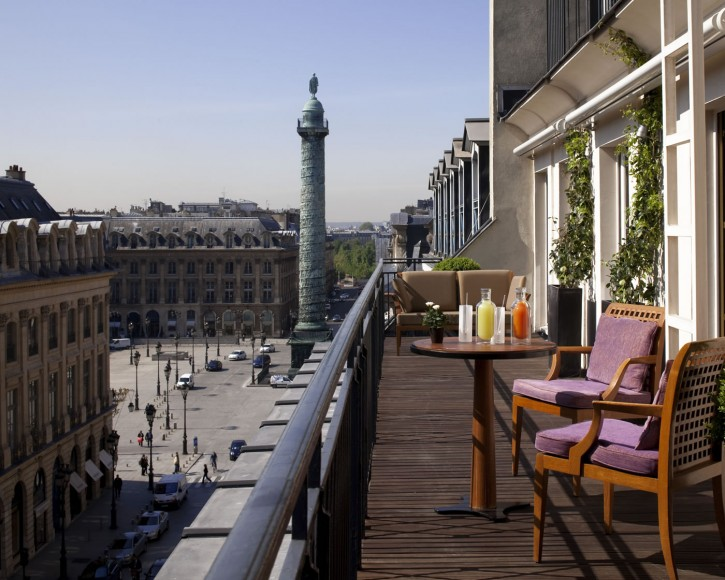 Suite Vendome Terrasse