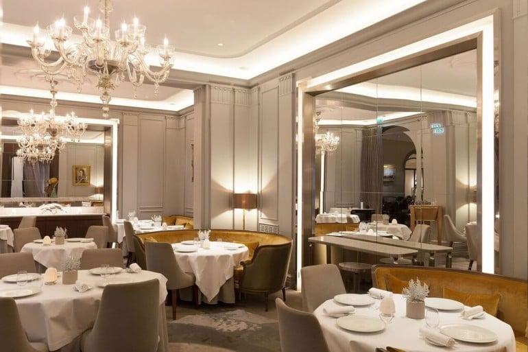 Restaurant - La Table du Lancaster