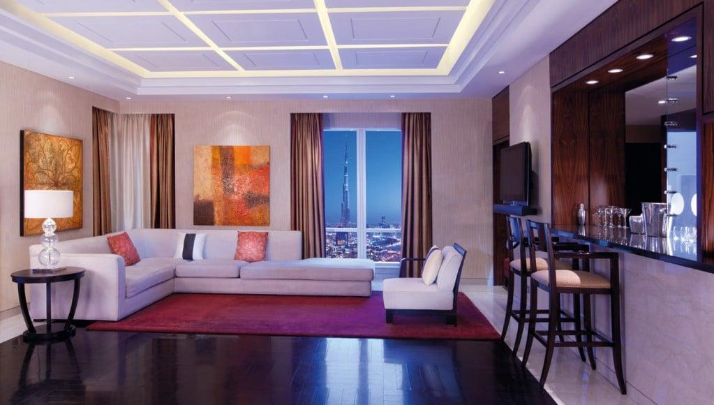 Presidential Suite with Burj-Khalifa View