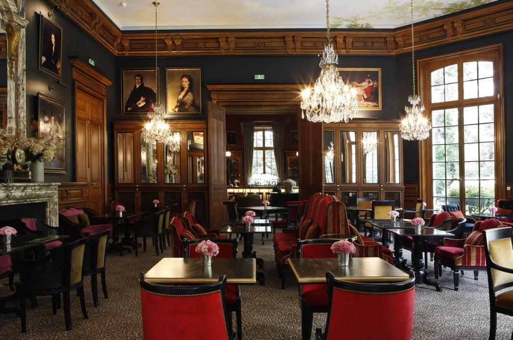 Saint James Paris restaurant