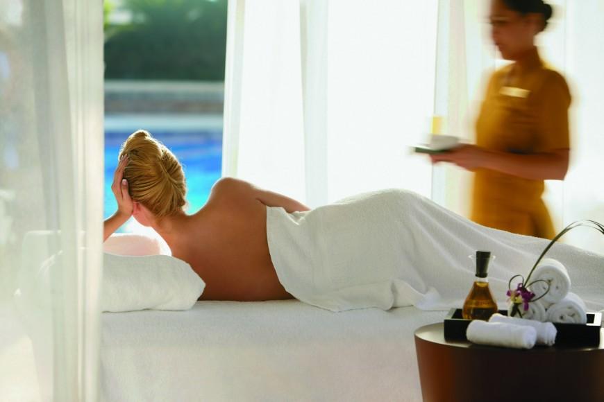 Spa outdoor massage