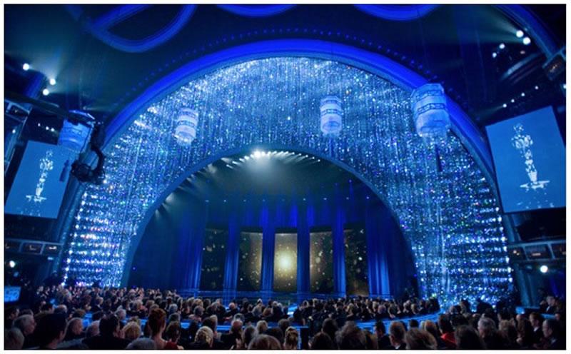9 Bedazzling Oscar Sets Thousands Of Swarovski Crystals
