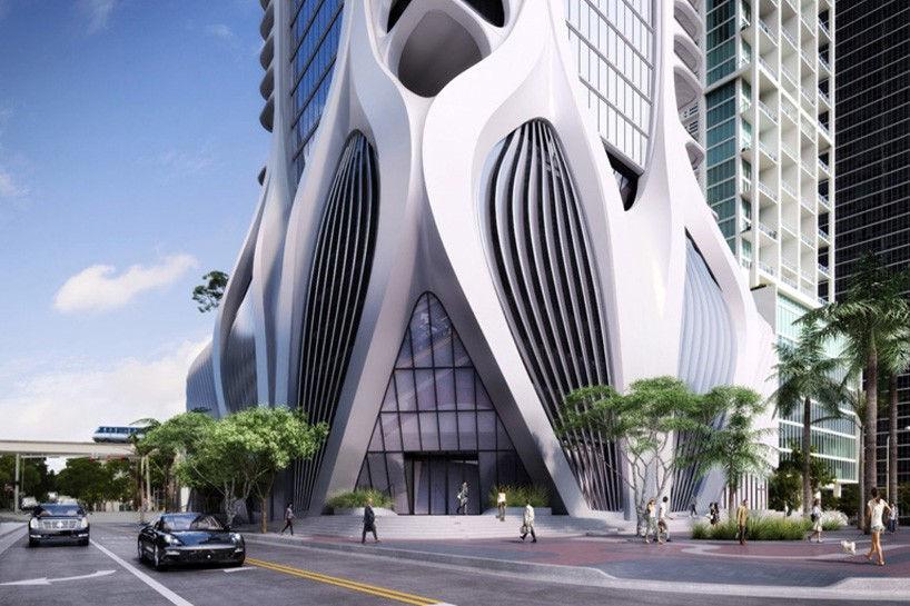 Closer Look Zaha Hadid One Thousand Museum Storey Luxury Residential Tower Miami