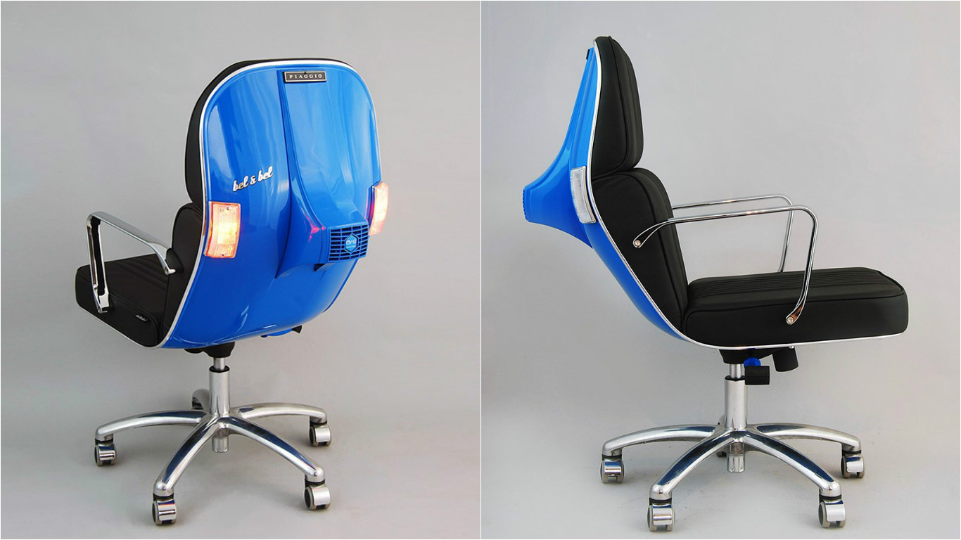 Bel And Bel S Scooter Chairs Will Change The Way You Think