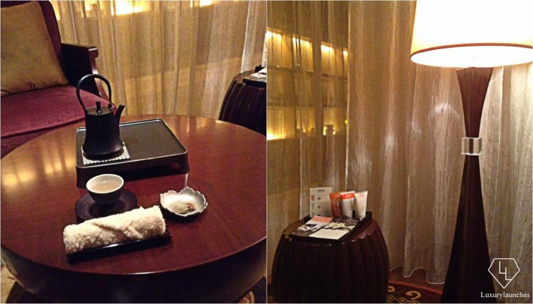 And lastly, some tea in the semi-private salon, before we made our way out…