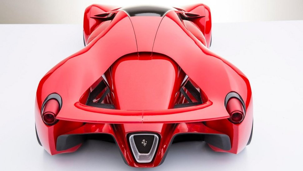 Ferrari F Concept X C on Under A Car